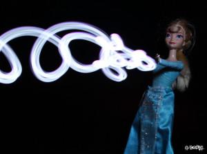 Elsa v3 lightning drawing