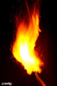 Photo boule de feu v2